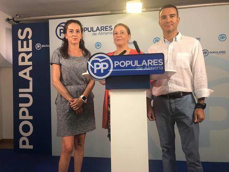 """Crespo: """"Díaz no puede seguir callada tras la 'bofetada' de Sánchez a Andalucía"""""""
