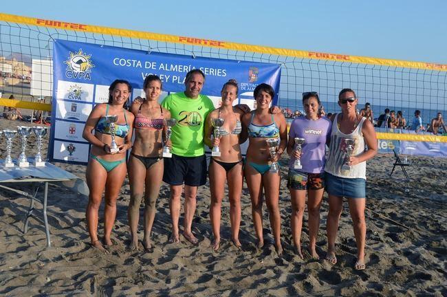 Cabo de Gata vive la pasión por el voley playa con el 'Costa de Almería Series'