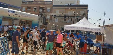 El Día de la Bicicleta congregó a más de un centenar de ciclistas