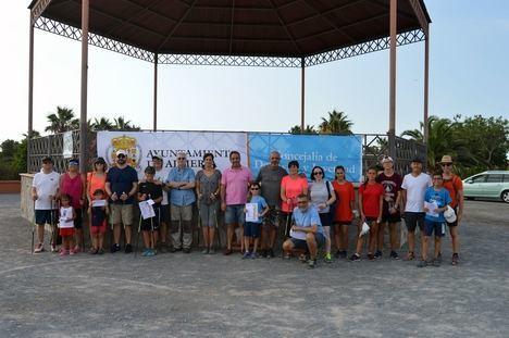 Más de 200 niños y mayores disfrutan con los XX Juegos de Orientación de #AlmeríaenFeria