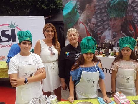 Primera jornada del concurso gastronómico infantil