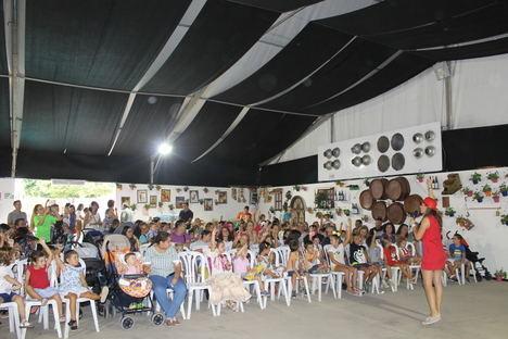 El color de los besos inundó la Fiesta Infantil de Feria de CSIF