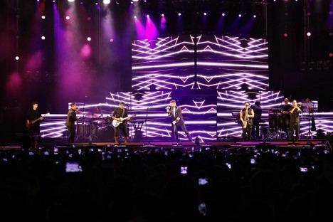 Ricky Martin enamora a 9.000 almerienses en #AlmeriaenFeria