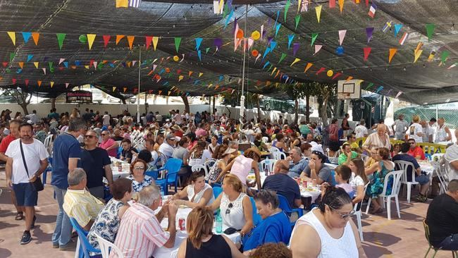 La Alquería celebra sus fiestas en honor a la Virgen de las Angustias