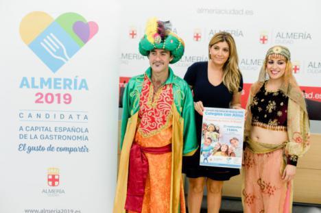 El Anfiteatro de la Rambla se llenará de escolares en apoyo a la capitalidad gastronómica 'Almería 2019'