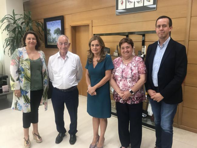 La Junta reitera al alcalde de Roquetas de Mar el compromiso con el nuevo hospital