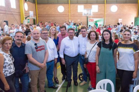 """Sánchez Teruel destaca la """"fuerte"""" apuesta de la Junta por Roquetas de Mar"""