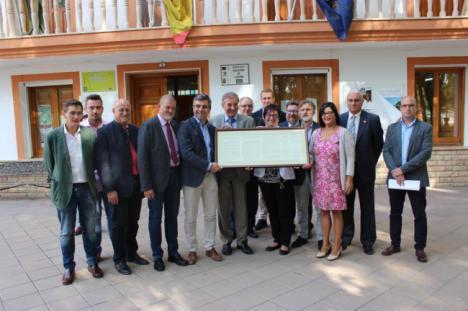 Sierra María-Los Vélez y el Parque Altmühltal de Baviera colaboran en materia ambiental y desarrollo rural