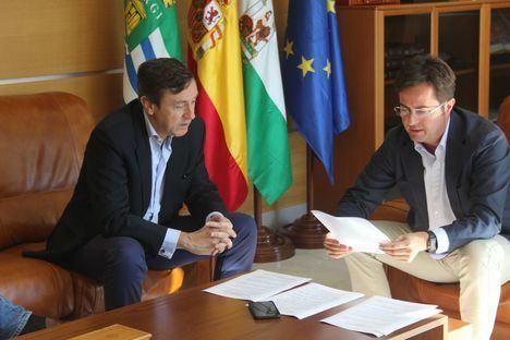 Góngora y Hernando hablan de infraestructuras para El Ejido