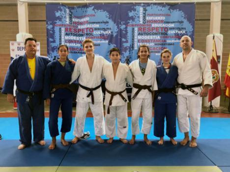 Cinco judocas de la EDM Alianza KSV en una concentración internacional en Toledo