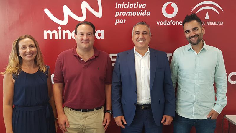 Wavydrive participa en el VI Programa Minerva de Junta y Vodafone