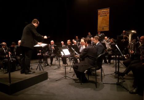 Nuevo lleno en el Apolo en el regreso de la Banda Municipal de Música de Almería