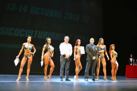 150 deportistas en la Copa de Andalucía de Fisioculturismo en Almería