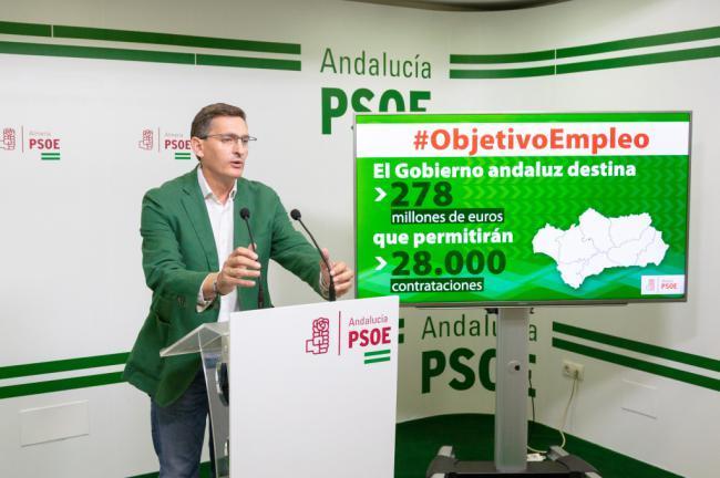 Sánchez Teruel dice que Almería 'tendrá un plan de empleo'