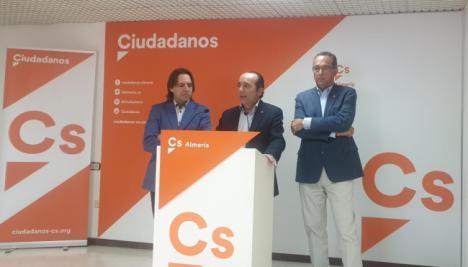 """Samper (Cs): """"Este presupuesto demuestra que la Junta empieza a tener en cuenta a Almería"""""""