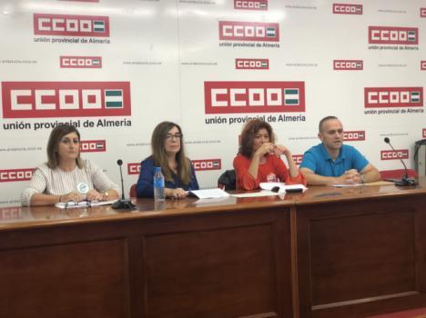 Habrá movilización de empleados de Correos en Almería