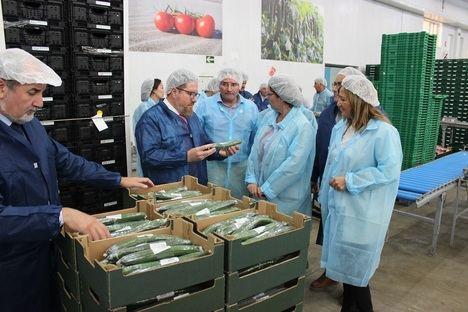Sánchez Haro reitera la ventaja de la producción ecológica,