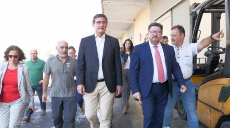 El alcalde de Adra muestra su satisfacción por el impulso al proyecto para hacer visitable la Lonja