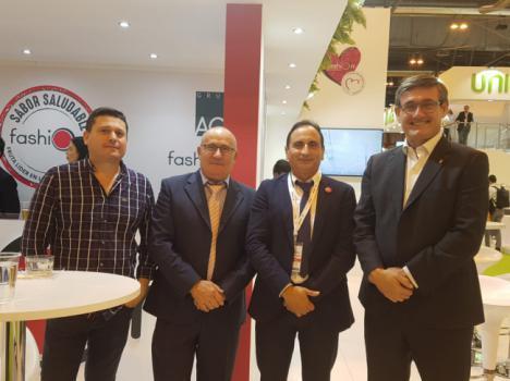 El alcalde de Adra respalda al sector agroalimentario en Fruit Attraction