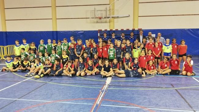 Adra acoge un torneo de balonmano A5 con participantes de toda la provincia
