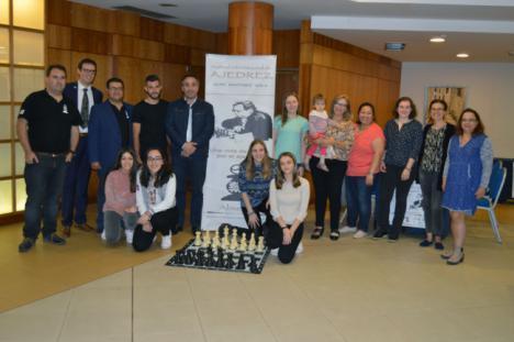Jugadoras profesionales compiten en Almería por la norma 'Maestra Internacional de Ajedrez'