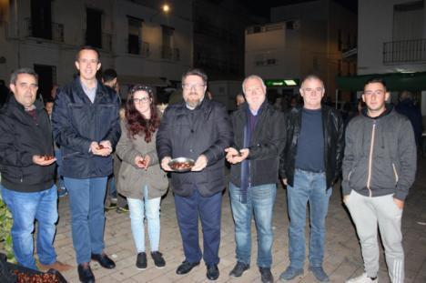 Sánchez Haro ensalza el papel de la castaña en Paterna del Río