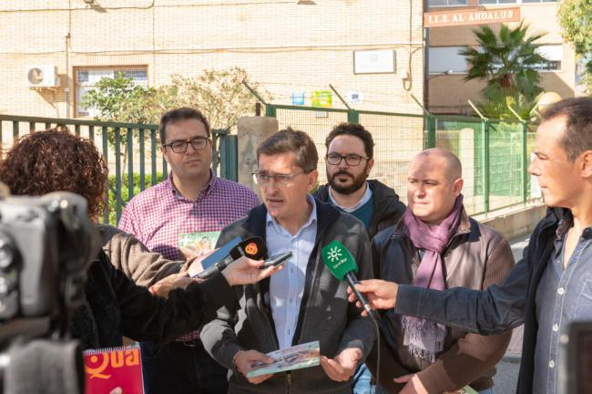 El PSOE habla de 94 millones invertidos en centros educativos de Almería por la Junta