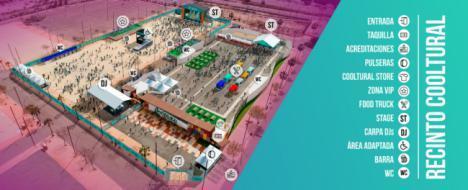 Más grupos y más espacio para Cooltural Fest 2019