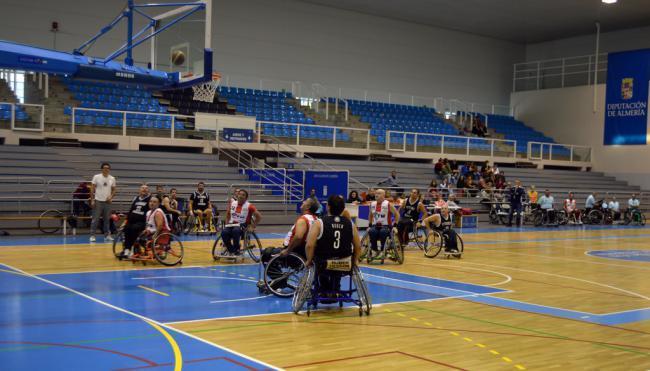 Cludemi se estrena con una gran victoria en el inicia de la liga de Baloncesto en Silla de Ruedas