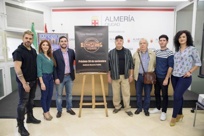 El Maestro Padilla se llenará para rendir homenaje a cuatro décadas la Orquesta Expresiones