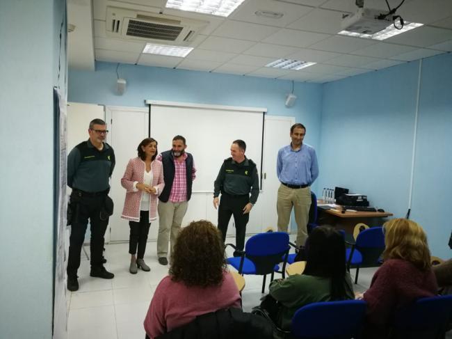 Profesionales del Distrito Sanitario Poniente participan en un curso sobre agresiones