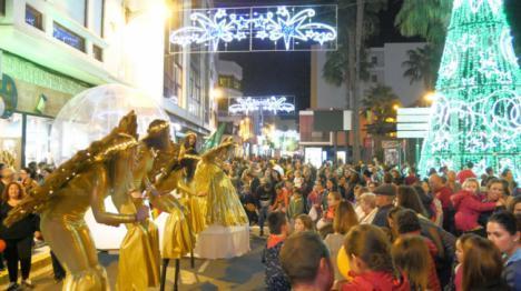 El espíritu de la Navidad ya se respira en Adra
