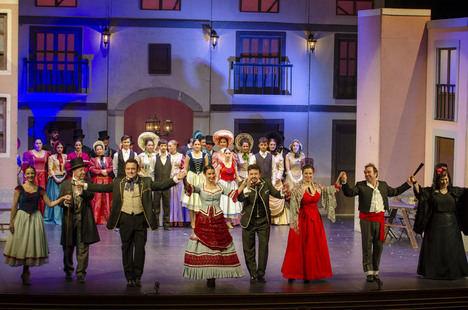 'Doña Francisquita' conquistan al público de Almería