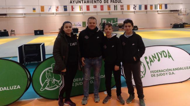 La judoca abderitana Nerea Sánchez, primera en el Ranking Junior de Andalucía