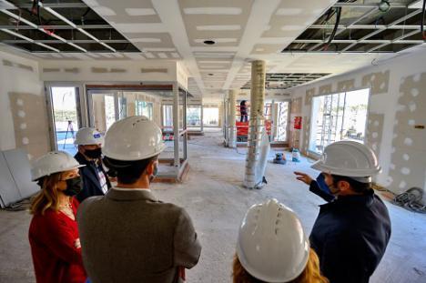Las obras del nuevo edificio del Tercer Sector estará listo en verano