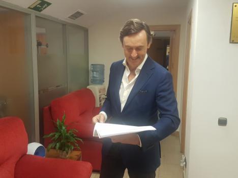 """Hernando denuncia que Sánchez """"tiene bloqueadas las inversiones en materia hídrica en Almería"""""""