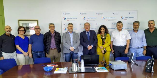 El director Corporativo de Puertos del Estado visita los de Almería y Carboneras