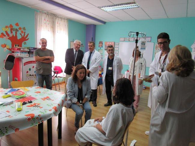 El Aula Hospitalaria del Hospital de Poniente inicia el nuevo curso escolar