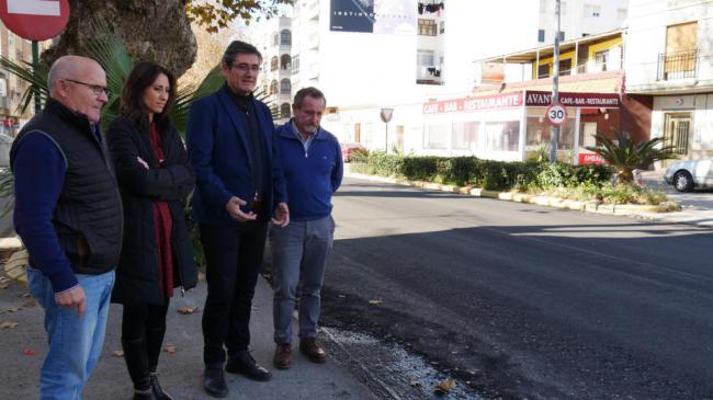 En marcha un paquete de obras de renovación en calles de Adra y barriadas