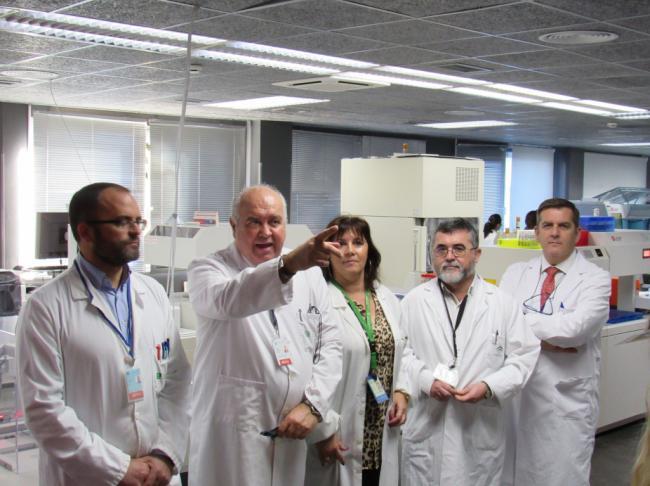 2.800 analíticas son pedidas a la Unidad de Biotecnología del Poniente al día