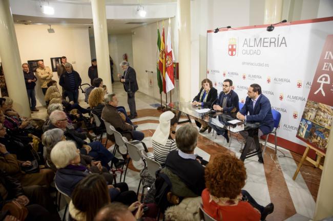 'Indalianos en Madrid' conmemora el 70º aniversario en el 'Salón de los Once' de Madrid