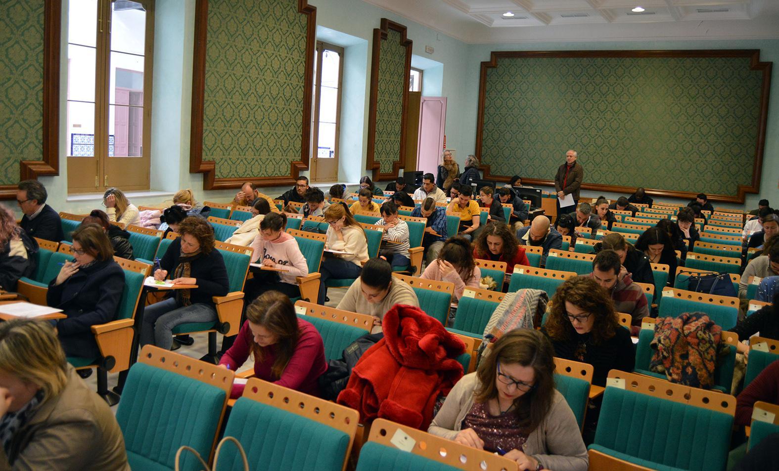 Calendario De Examenes Uned.La Uned Almeria Realiza Los Primeros Examenes Del Cuatrimestre