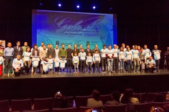 La Gala del Ciclismo Almeriense 2018 llena el Auditorio de El Ejido