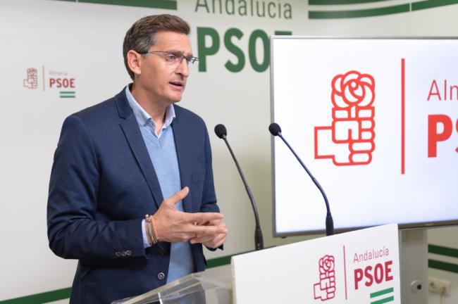 Sánchez Teruel exige al PP y Cs que no paralicen los proyectos que están en marcha en Almería