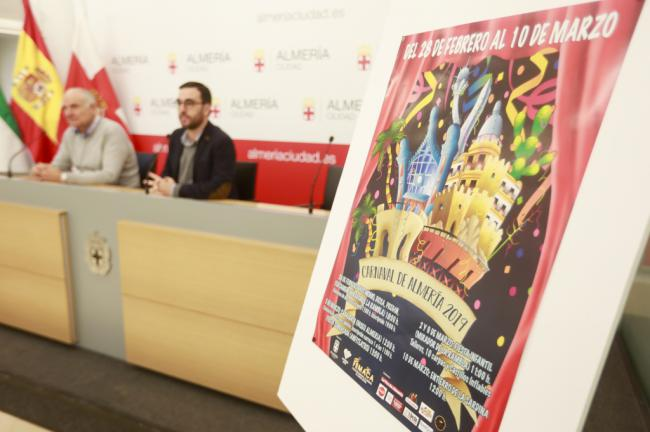 El Carnaval de Almería seguirá recuperando el pulso de la calle