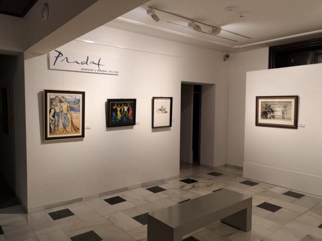 Abierta una micro exposición con dibujos y pinturas de Carlos Pradal