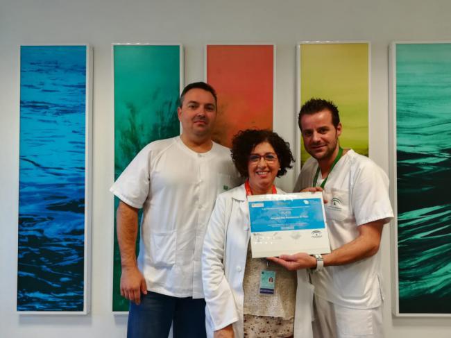 El Hospital de El Toyo recibe el distintivo 'Plata' de la Red Andaluza de Servicios Sanitarios Libres de Humo