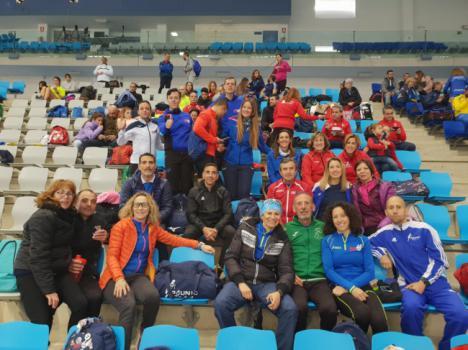 Los atletas almerienses logran 21 medallas en el Campeonato Andalucía Máster Indoor