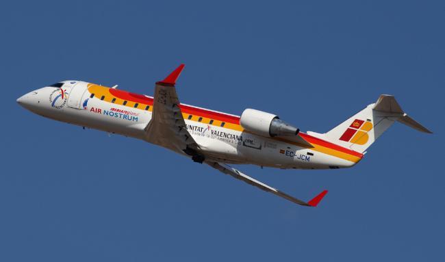 La ruta aérea Almería-Sevilla cierra 2018 con un 13,6% más de viajeros