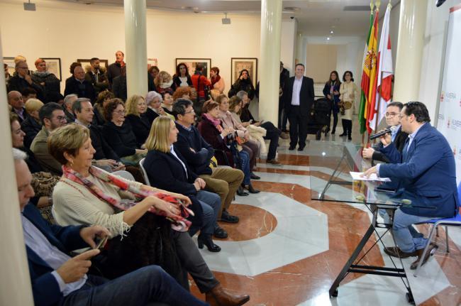 Pepe Checa renueva la sala Jesús de Perceval del Museo de Arte 'Espacio 2'